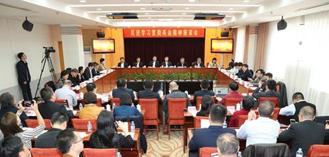 民进学习贯彻两会精神座谈会在北京举行